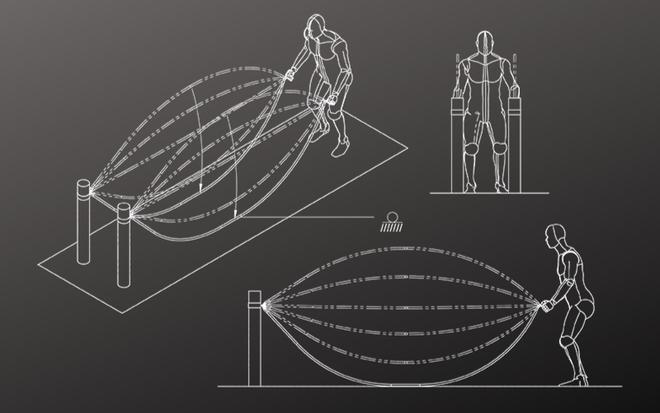Imagen gráfica de como utilizar Inertia Wave para trabajar el core...