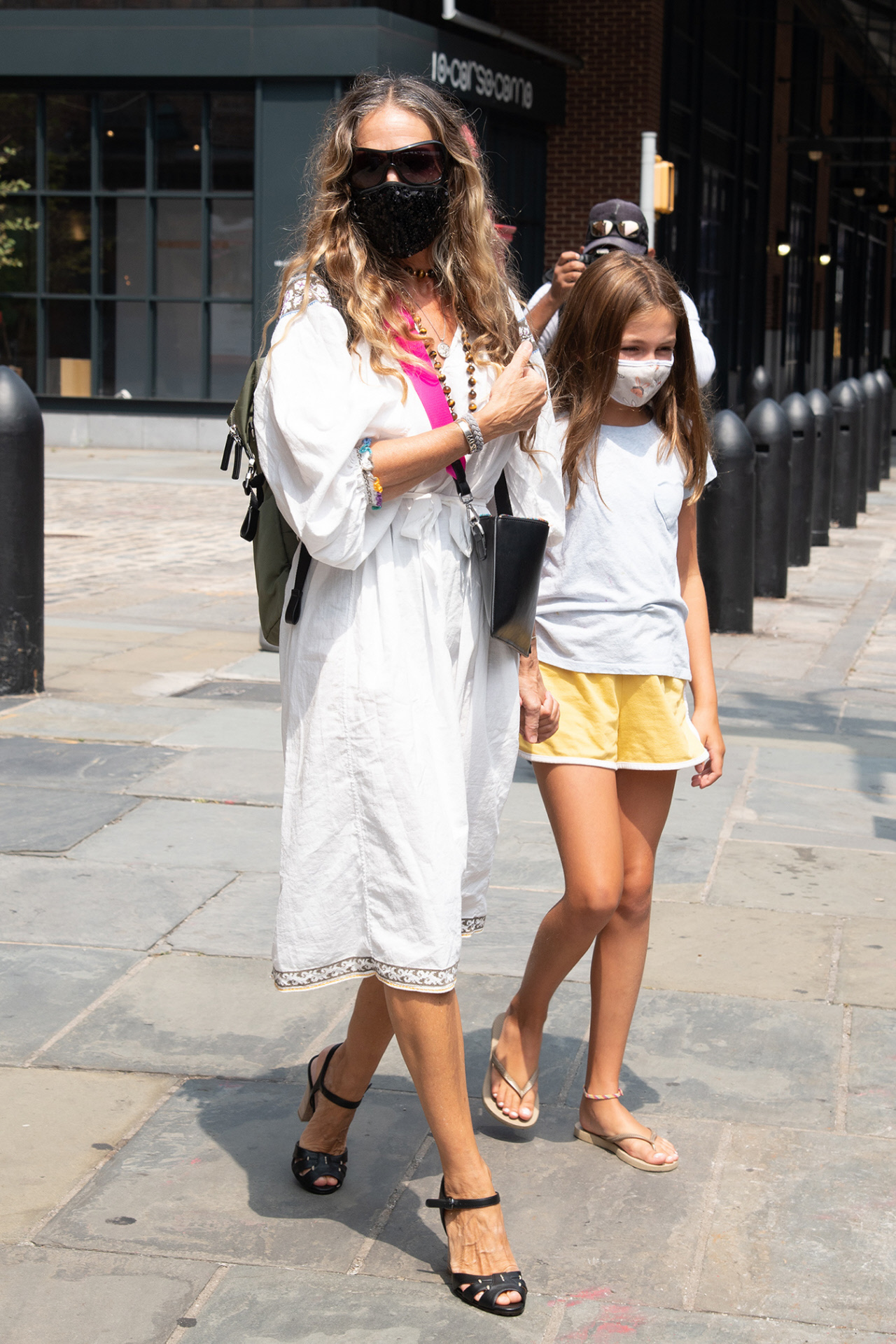 Sarah Jessica Parker junto a su hija en Nueva York.