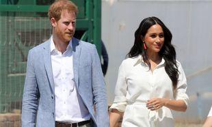 Meghan y Harry en su viaje a Sudáfrica (2019).