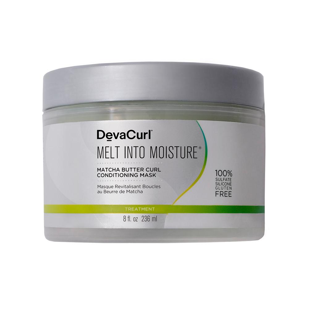 Mascarilla Melt Into Moisture con manteca de matcha de Deva Curl