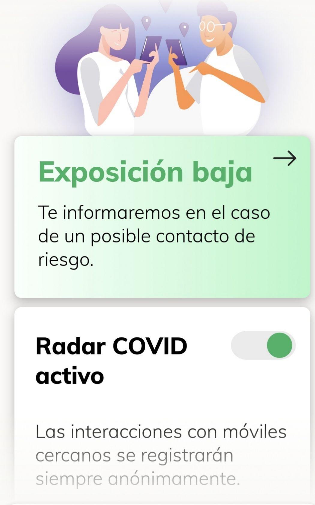 App Radar COVID.