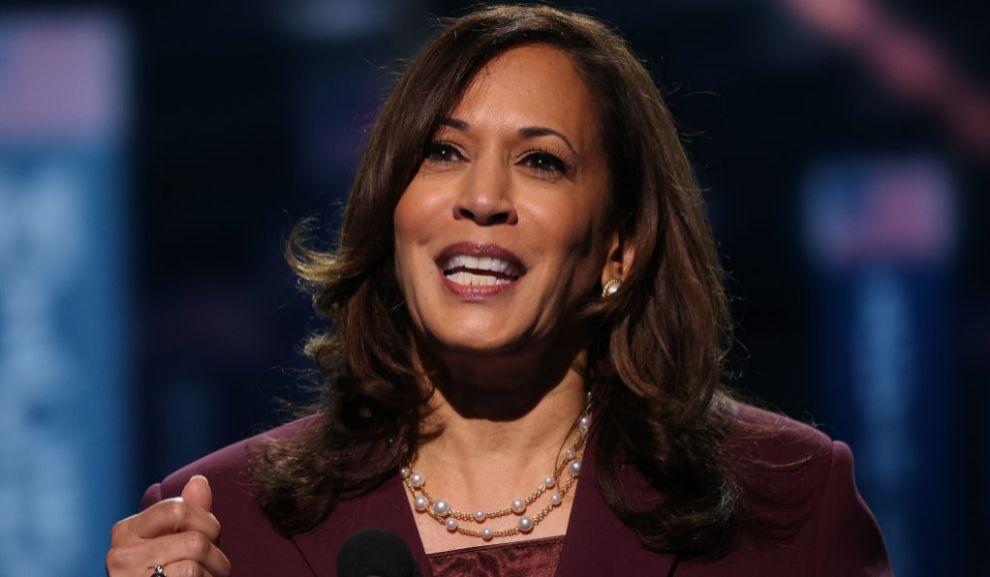 Kamila Harris en la Convención Nacional Demócrata (agosto 2020).