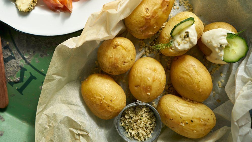 Patatas cocidas. Tómalas en frío para aprovechar sus beneficios y presumir de tripa plana.