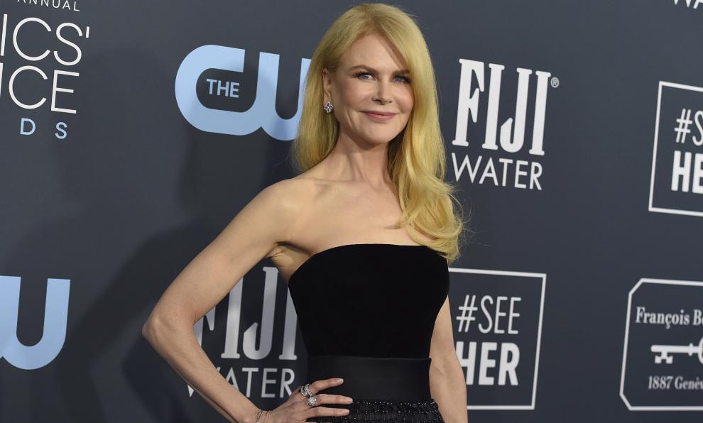 La actriz Nicole Kidman, de 53 años, mantiene una estupenda figura...