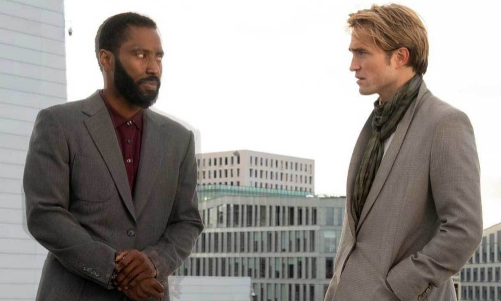 "John David Washington y Robert Pattinson protagonizan ""Tenet"", la..."
