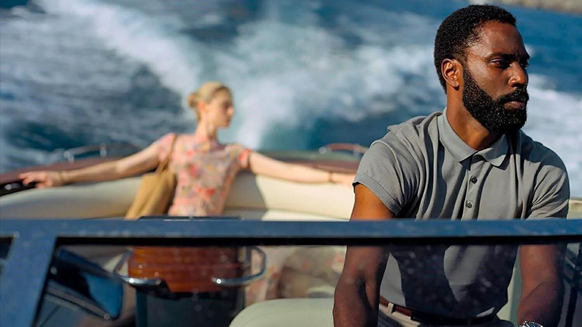 """Fotograma de """"Tenet"""", la nueva película de Christopher Nolan."""
