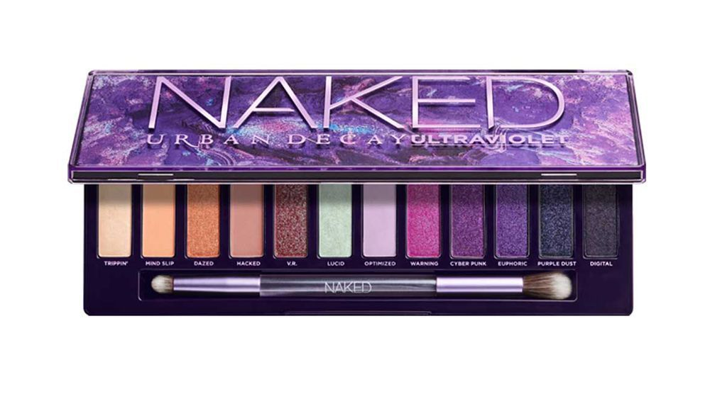 Naked Ultraviolet Eyeshadow Palette de Urban Decay (52,50 euros).