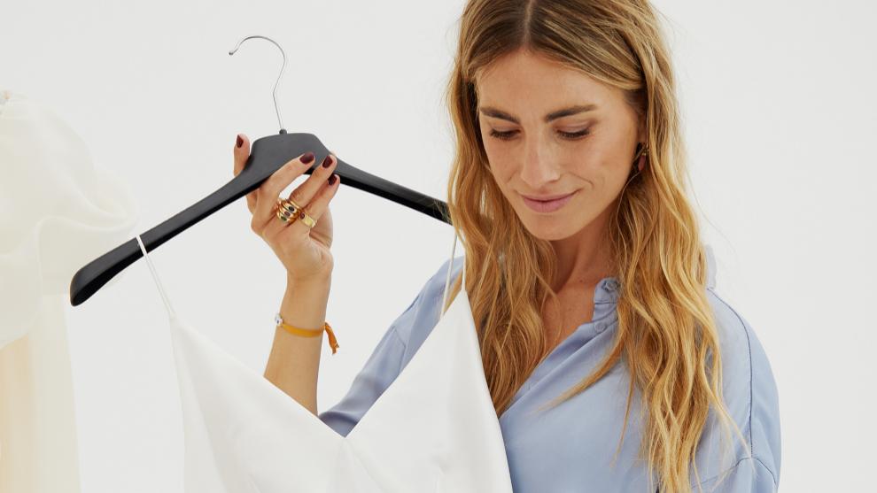 La diseñadora y emprendedora se caso en 2018 con un vestido de...