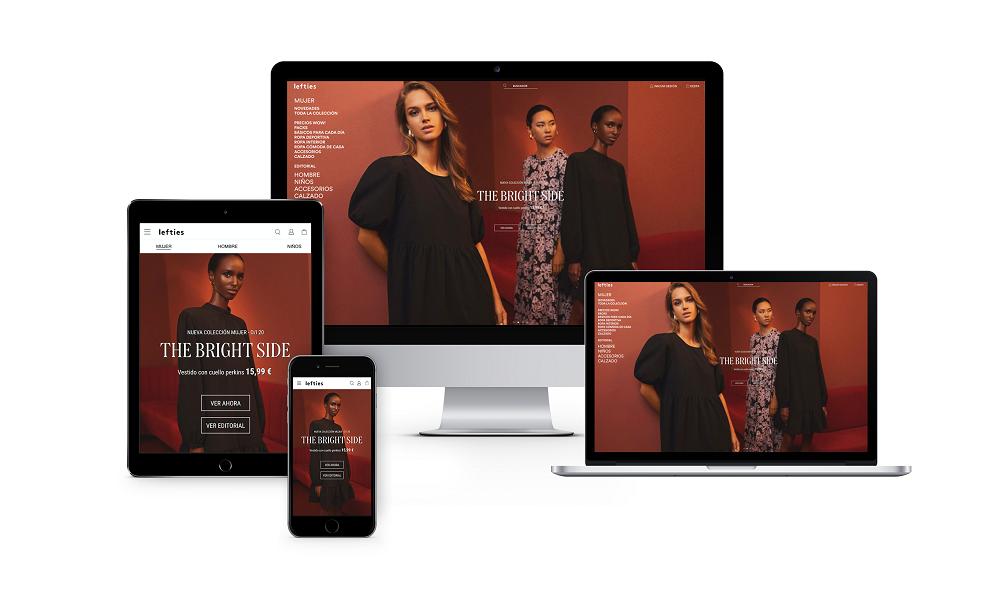 Lefties estrena web, con un diseño renovado, más funcional, visual e intuititva y aplicaciones para Apple y Android.