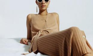 Muchas firmas low cost ya tienen su colección de vestidos de punto....