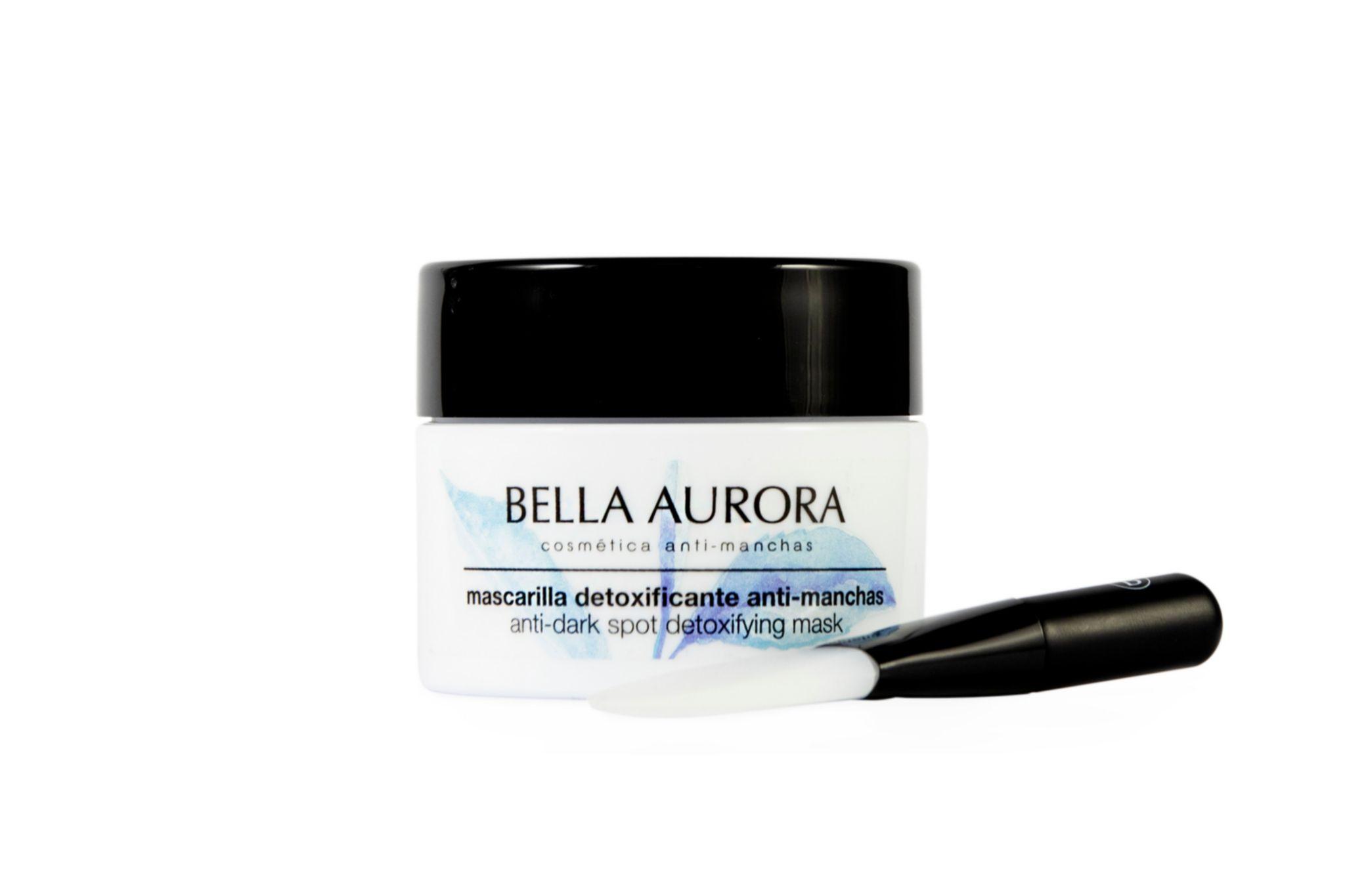 Mascarilla detoxificante anti-manchas, Bella Aurora (23 euros).