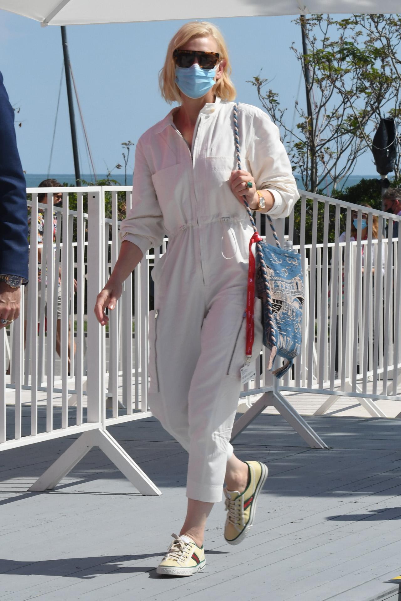Cate Blanchett en Venecia.