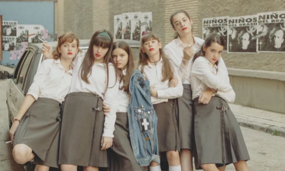 "Foto promocional de la película ""Las niñas"", de Pilar Palomero."