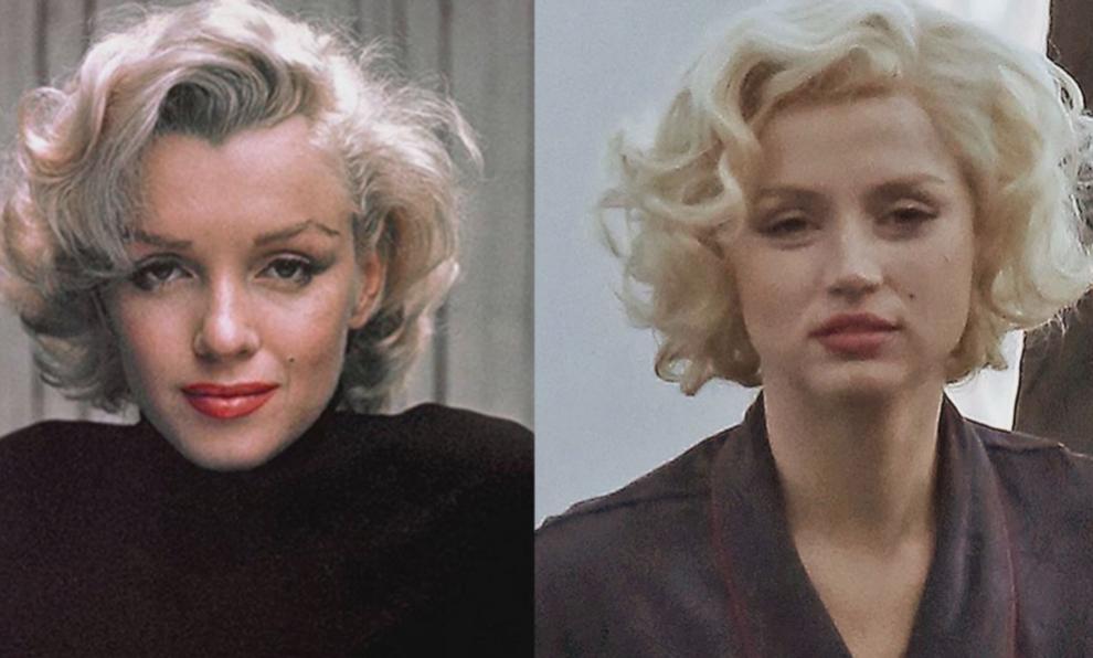 """Ana de Armas dará vida a Marilyn Monroe en """"Blonde""""."""