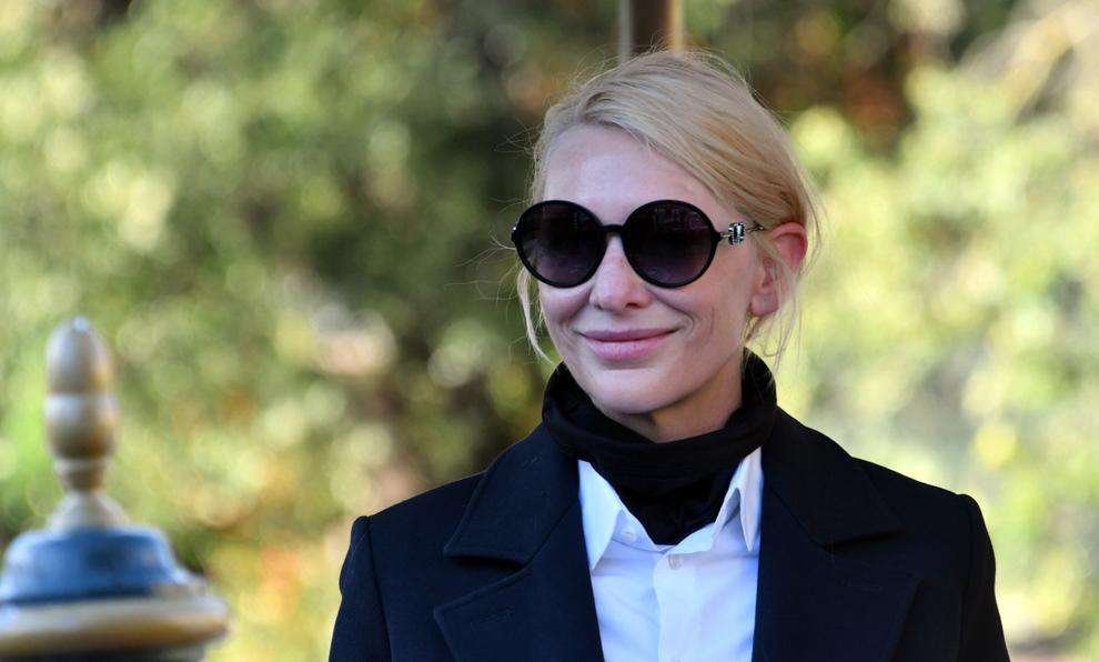 Cate Blanchett en el Festival de Venecia de este año.