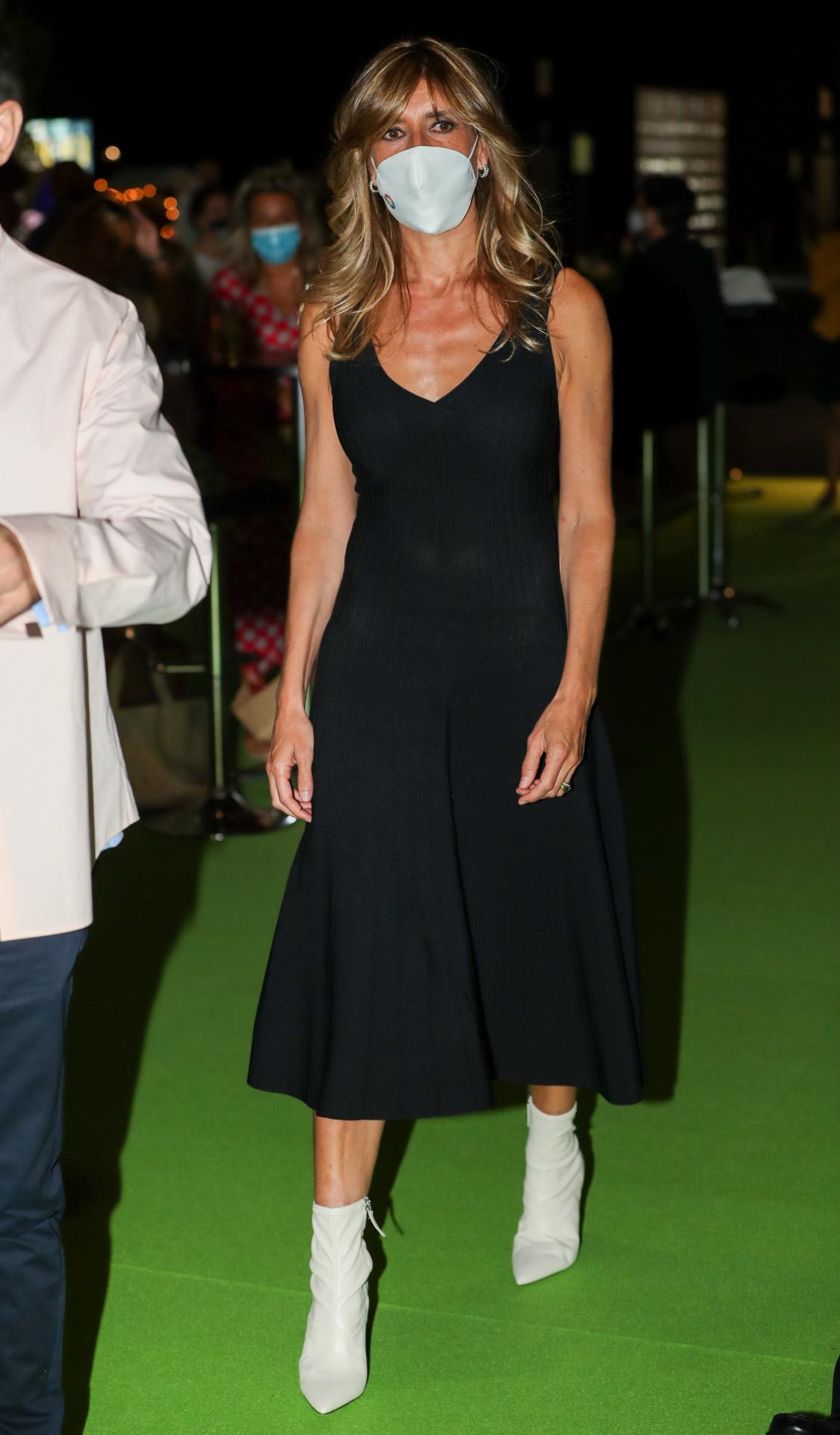 Begoña Gómez en la Madrid Fashion Week.