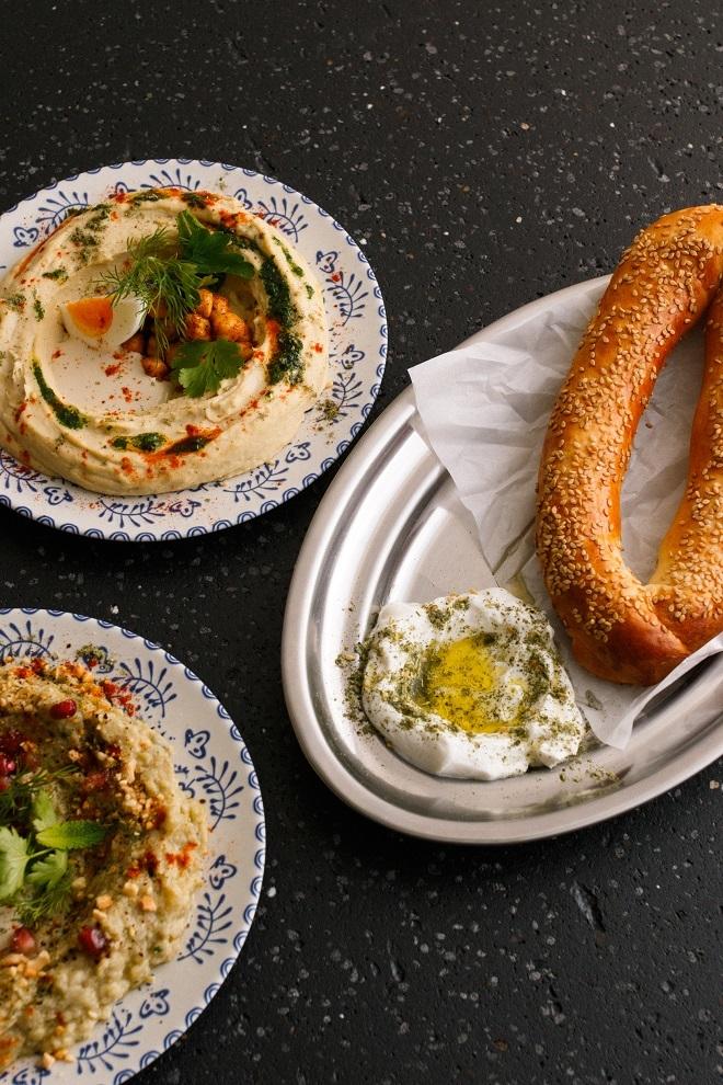 Hummus y Bagel de Jerusalén