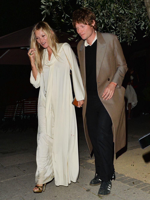 Kate Moss este fin de semana en Londres.