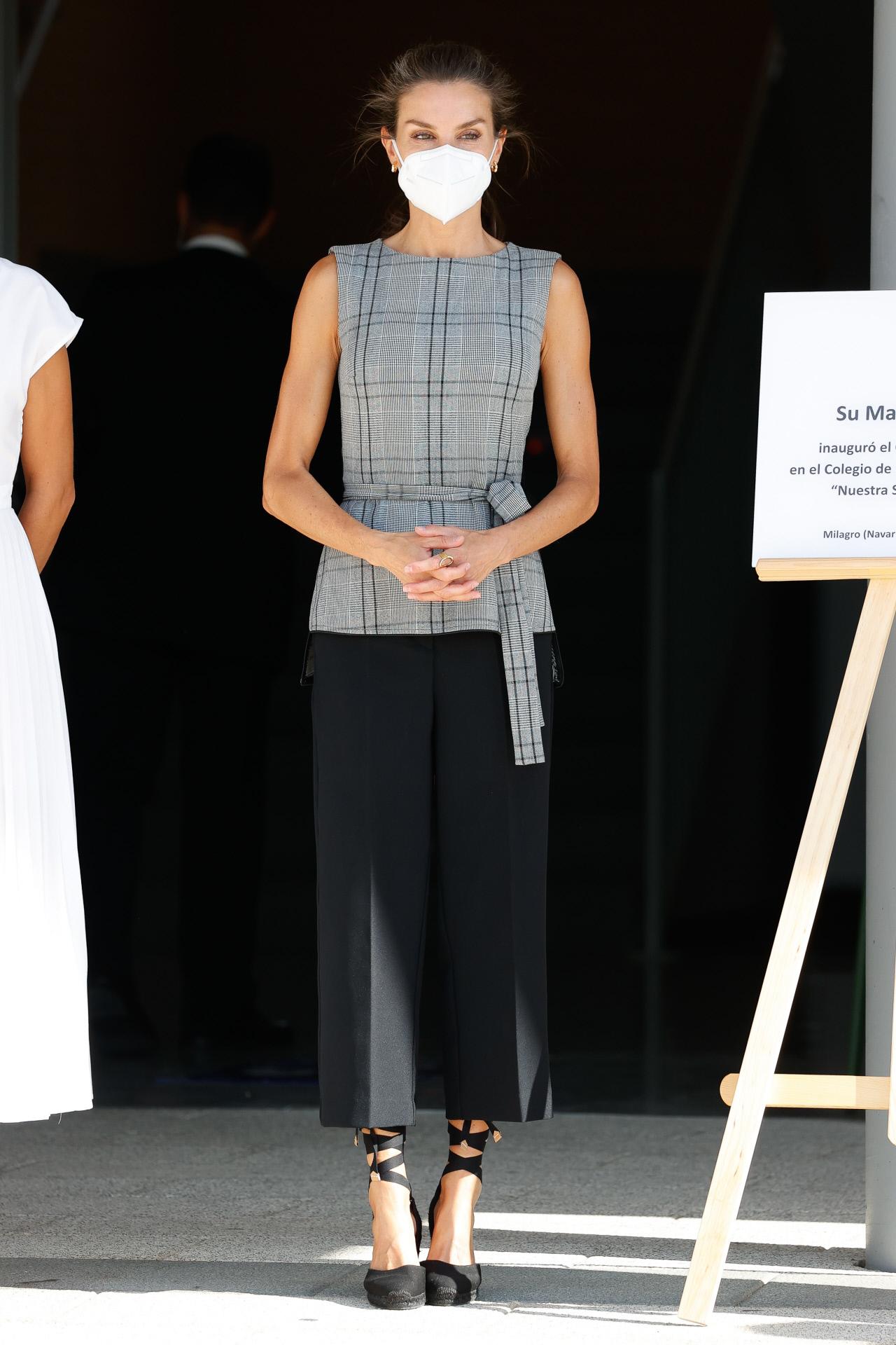 La reina Letizia inaugura el curso escolar.