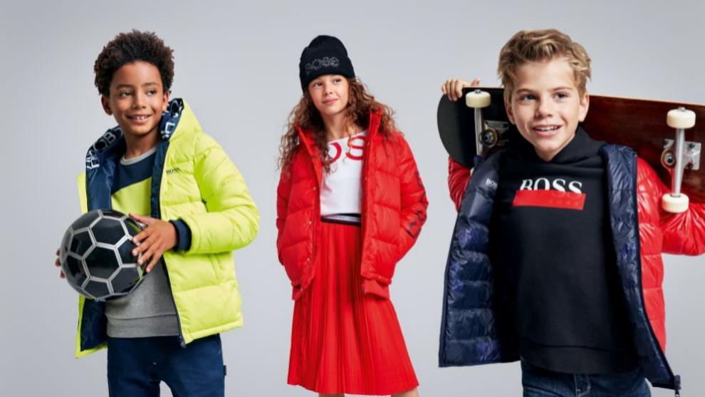 Los nuevos abrigo de Hugo Boss Kids aúnan elegancia y comodidad para...