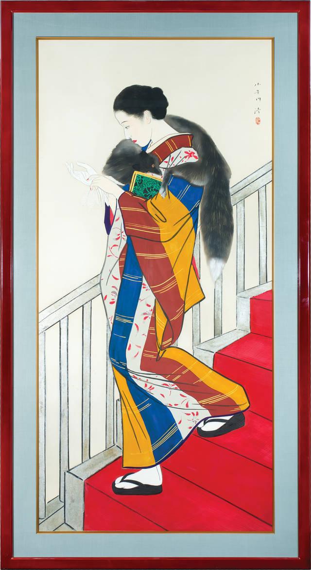 V&A Kaidan (staircase), by Kobayakawa Kiyoshi, 1935, Japan.