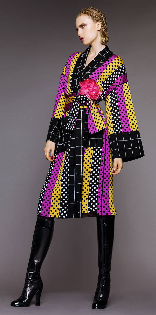 V&A Wrap coat, designed by Duro Olowu, AutumnWinter 2015, England.