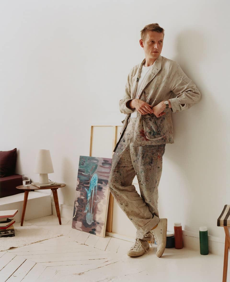 Zara Home presenta su colección pintura en el estudio del el músico...
