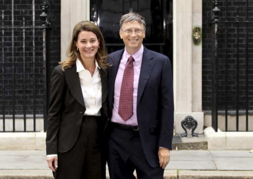 Bill y Melinda Gates, en Londres.
