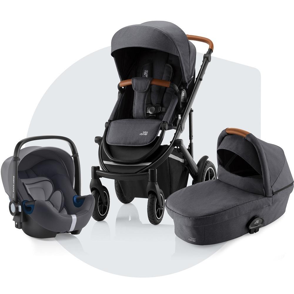 El SMILE III Trío Comfort incluye capazo, silla de paseo y el...