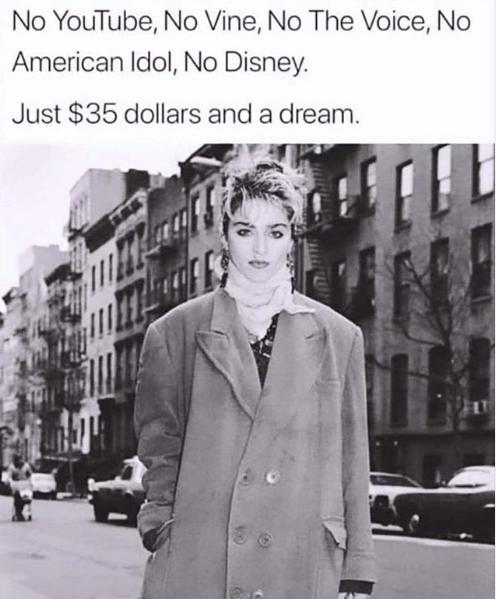 Así llegó Madonna a Nueva York en 1978, con 20 años