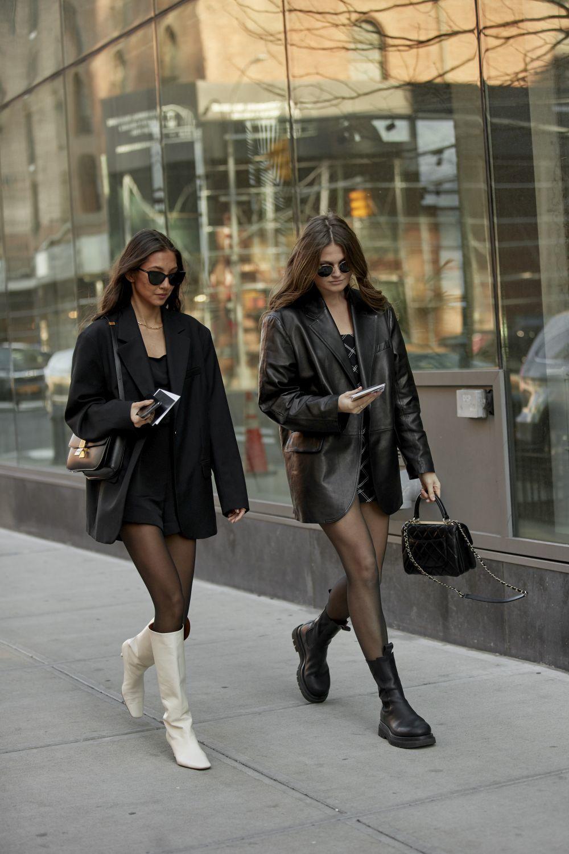 El vestido negro, la apuesta favorita del street style.