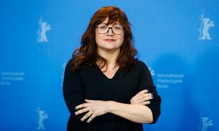 Isabel Coixet en el Festival de Berlín 2019, donde presentó Elisa y...