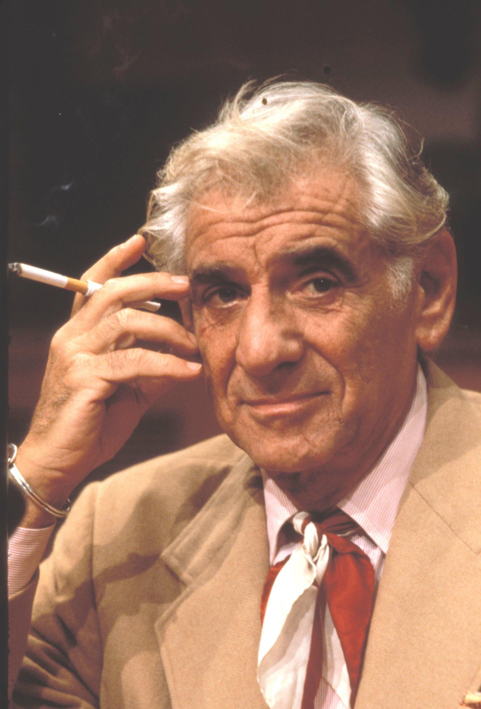 El director de orquesta Leonard Bernstein en una imagen de 1970.