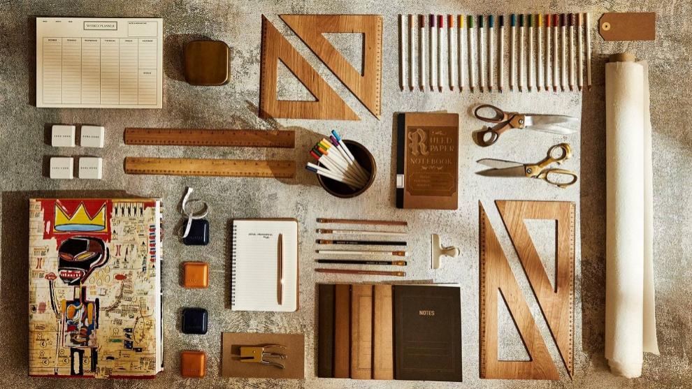 Vintage y timeless, así es la nueva colección de papelería de Zara...