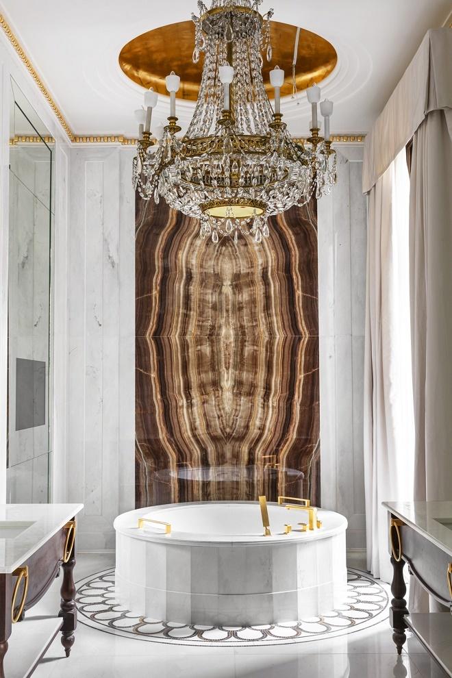 Cuarto de baño de la suite Real