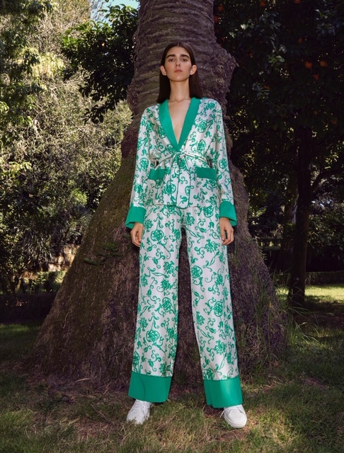 Sastre-pijama de la colección Resort de Pertegaz