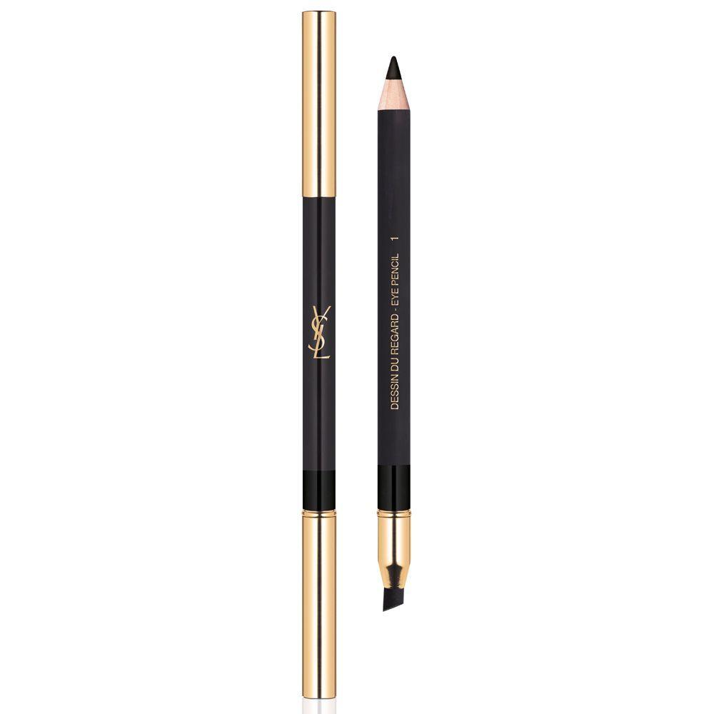 Dessin du Regard Eye Pencil 01 de YSL Beauté (27,50 euros).