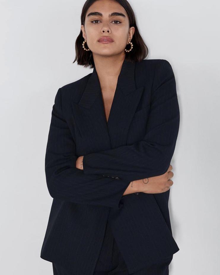 Jill en la tienda online de Zara en agosto de 2019.