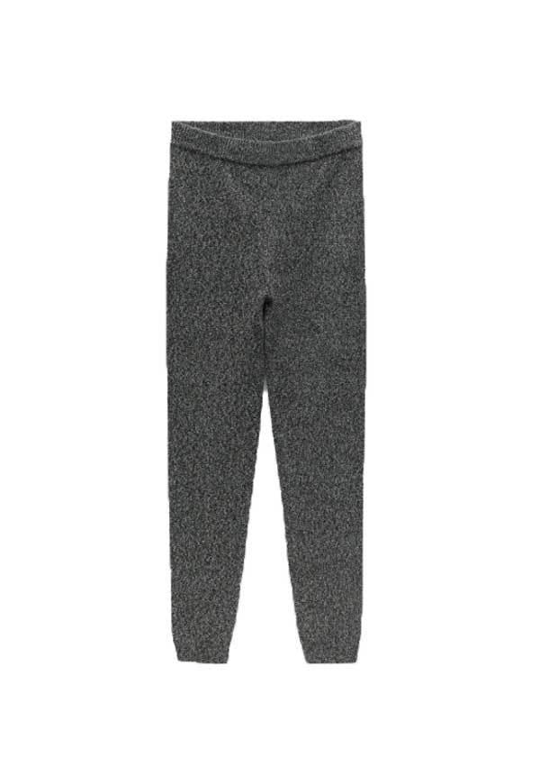 Pantalón de punto, de Zara.