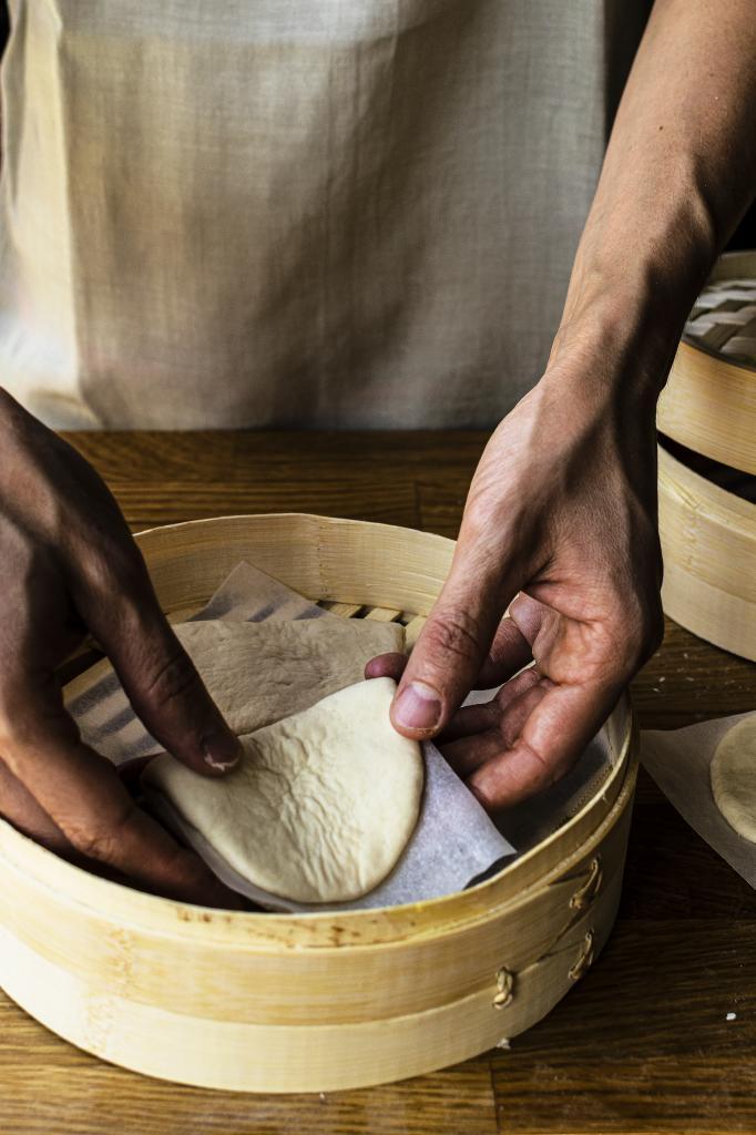 Cocer los pan bao