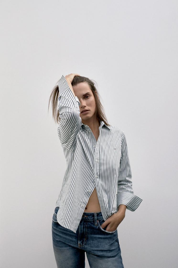 Poner las iniciales en las camisas de Zara es posible.
