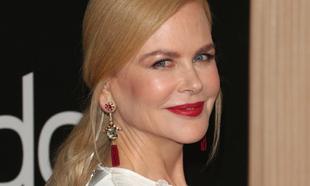 Nicole Kidman recurre al rojo pasión para la alfombra roja.
