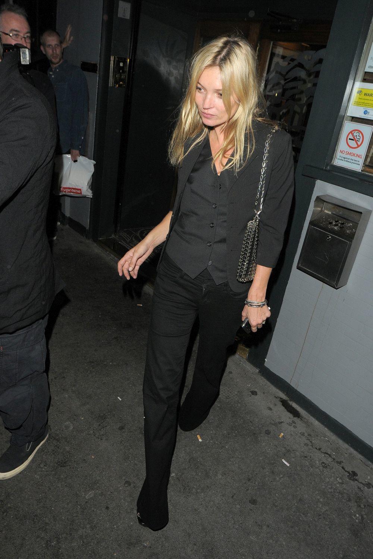Kate Moss en Londres.