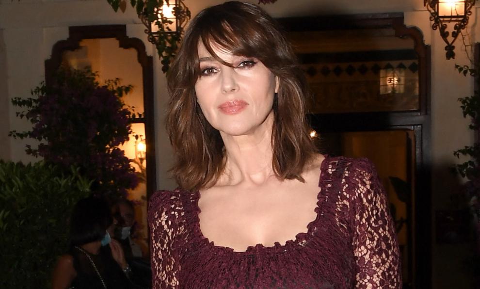 Monica Belluci, este verano en el festival de cine de Taormina.