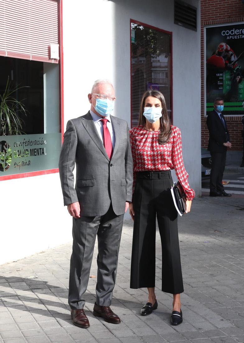 La reina Letizia en un acto oficial.