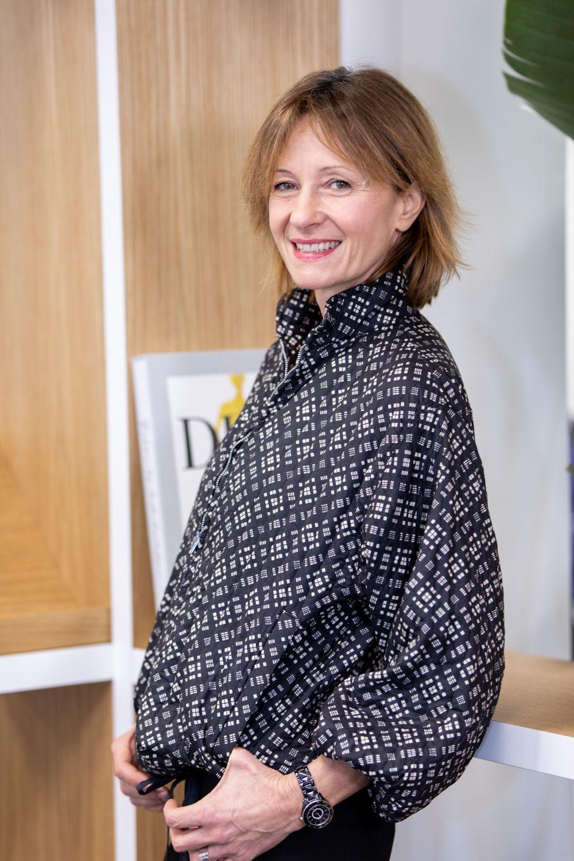 Sylvie Durcudoy, directora de comunicación de perfumes de Christian...