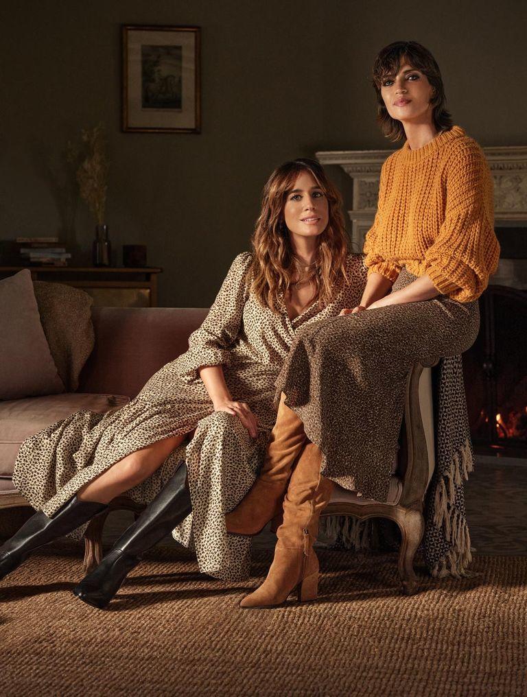 Sara Carbonero e Isabel Jiménez.