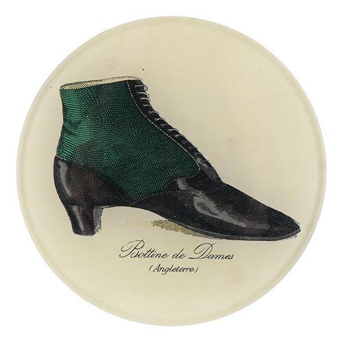 Zapato, pisapapeles de John Derian. Colección 2020.