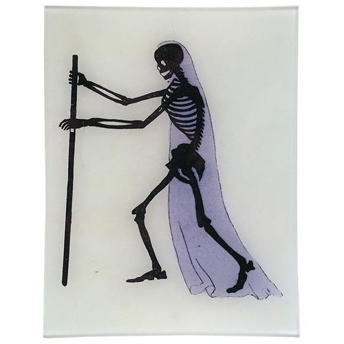 Bandeja con esqueleto. John Derian. Colección 2020.