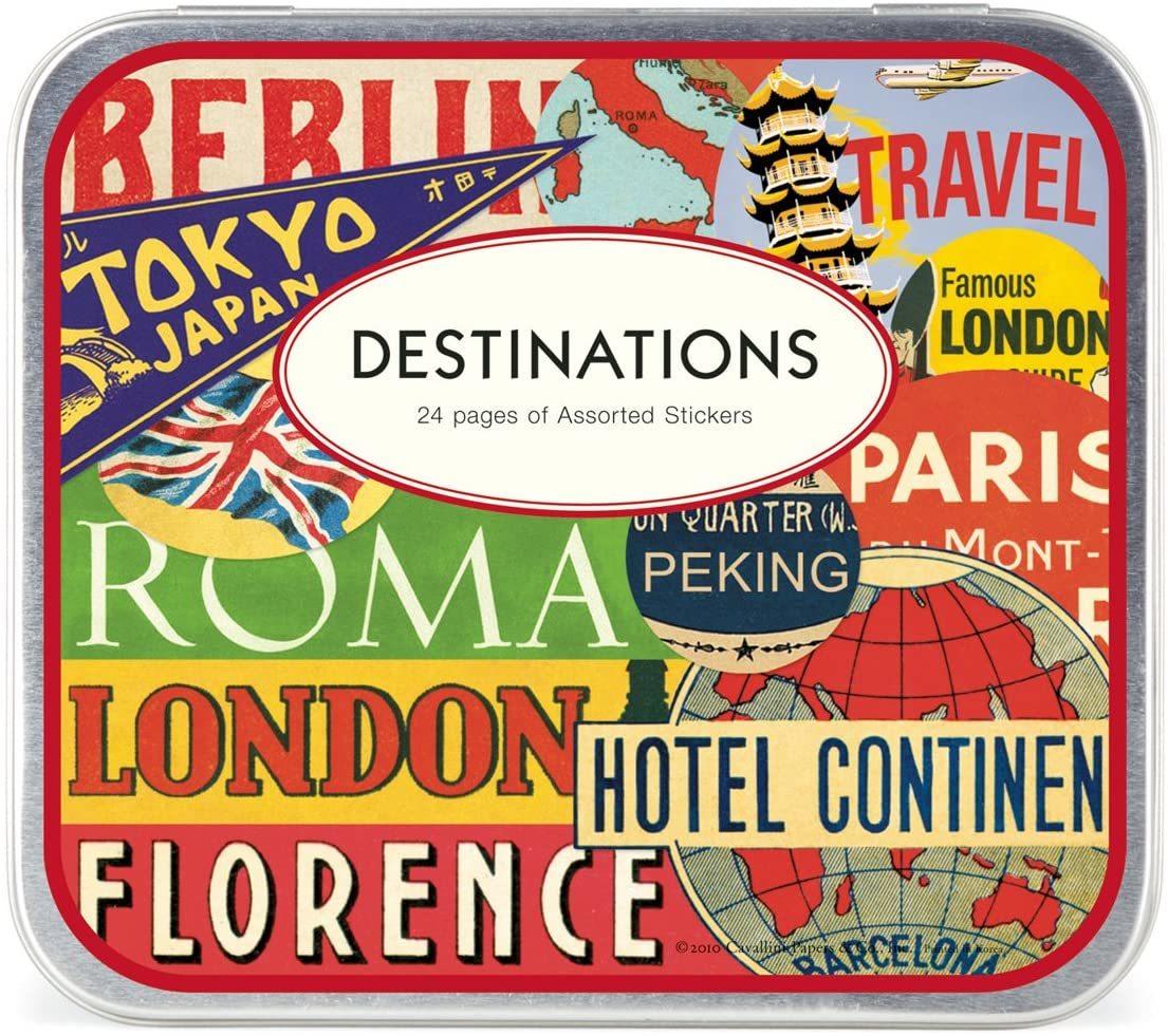 ¿Y si decoras tus maletas, o tus cuadernos? Con estas pegatinas...